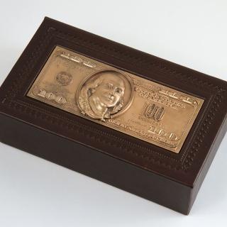 Шкатулка 100 долларов