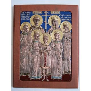 Царская семья Романовых, плакетка