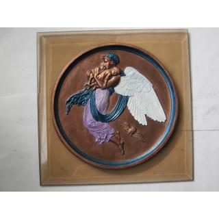 Ангел с детьми, стекло